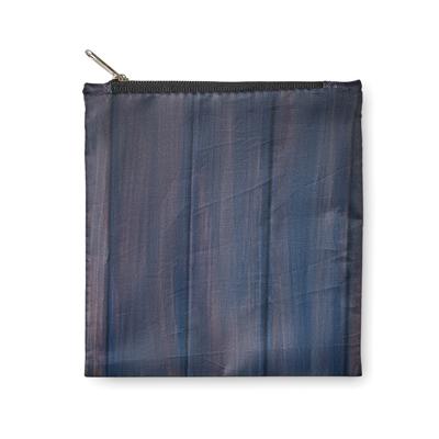 sac provisions XL pliable en polyester PET recyclées zippées double anses